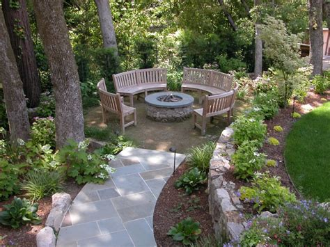 Backyard Landscaping Ideas With Pit by Backyard Pit Ideas A Creative