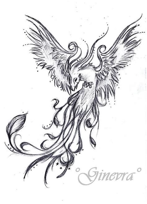 phoenix tattoo ink flying grey ink phoenix tattoos design tatu pinterest