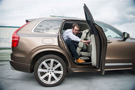 volvo seat volvo xc90 2017 term test review by car magazine