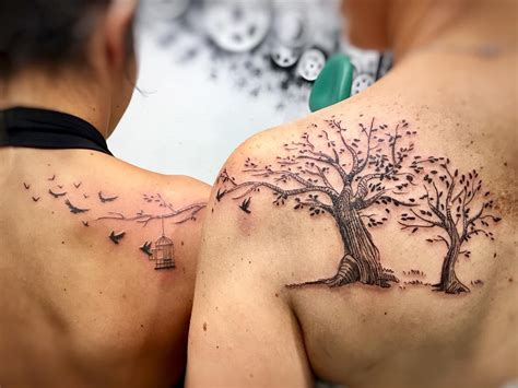 mother daughter tree tattoo 51 extremely adorable tattoos to let your