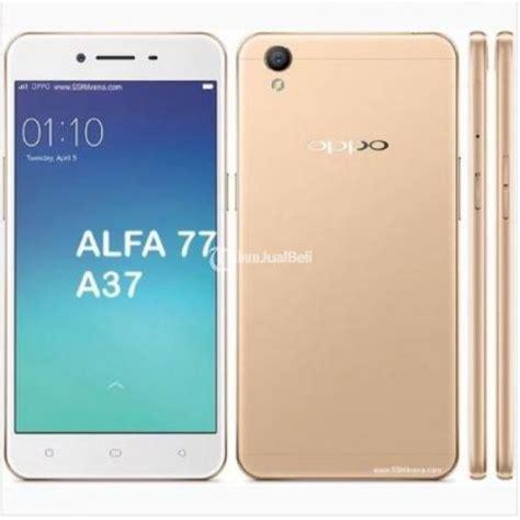 handphone oppo a37 new 16gb ram 2gb garansi 1 tahun bisa