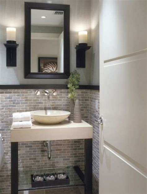 half bathroom designs brick tiles home interiors interior half wall designs 33 bathroom designs with brick