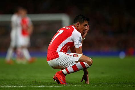 alexis sanchez not nominated arsenal star alexis sanchez not playing in the chions