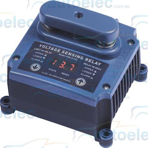 battery isolator vs capacitor programmable 150a dual battery charger isolator system 12v 12 volt vsr ebay
