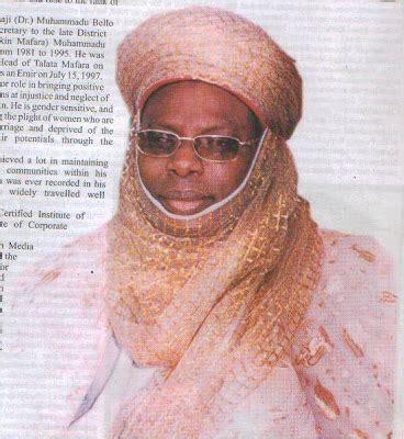 biography of professor muhammad yahuza bello inside zamfara