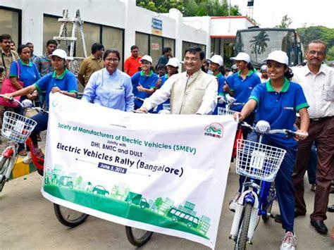 Electric Vehicles Karnataka Karnataka Transport Minister Promotes Electric Vehicles