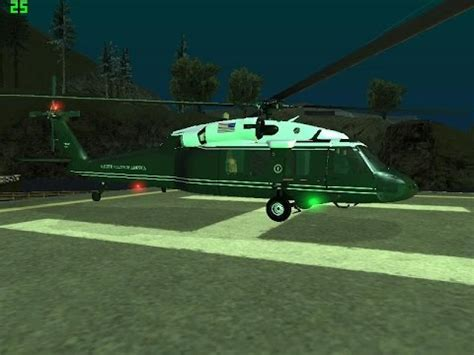 gta san andreas   mod paketleri   marine one helicopter
