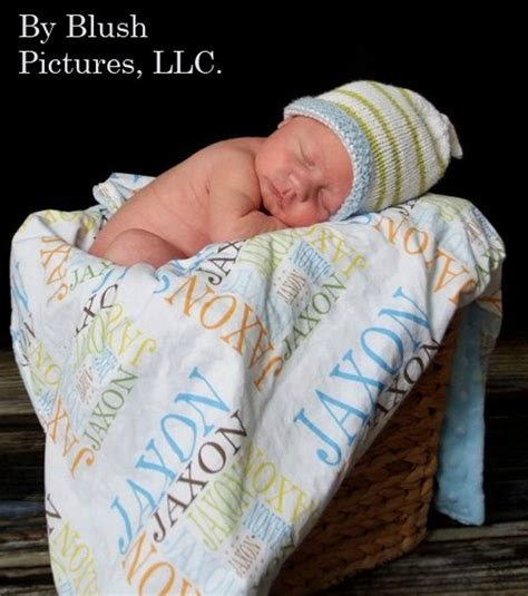 Blanket With Baby Name personalized baby blanket name minky by petunias soft