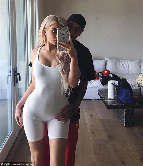 Kylie Jenner Shares Instagram Snap Where Tyga Touches Her