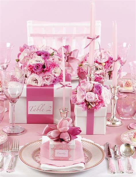pink theme decorations 1000 ideas about pink table decorations on