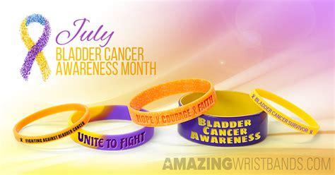 bladder cancer color bladder cancer wristbands custom designed