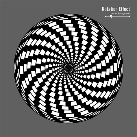 geometric pattern rotation optical illusion vector 3d art rotation dynamic effect