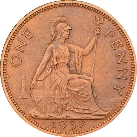 values of british one penny copper coins with queen great britain penny km 845 prices values ngc