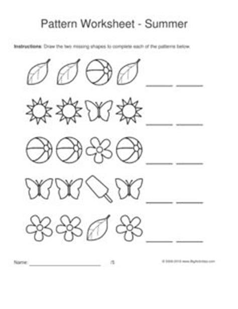 shape pattern worksheets for grade 1 shapes space and patterns worksheets for grade 4 1000
