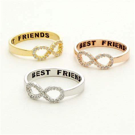 infinity ring best friends