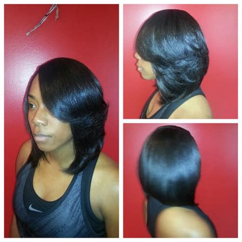 layered bob sew in hairstyles for black women for older women sew in weave long bob layers sew in hair styles for