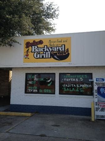 backyard barbecue store store front picture of john s backyard grill dallas