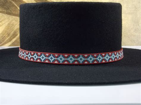 beaded hat band american american beaded hat band authentic