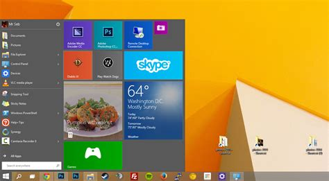 News Starter For Ten by Windows 10 Start Menu Taking A Closer Look Extremetech