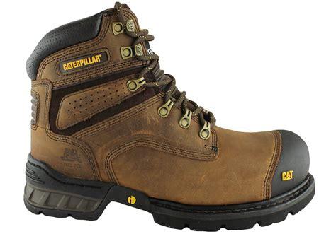 Cat Sefty Boots 1 caterpillar brakeman 6 quot side zip steel toe work safety