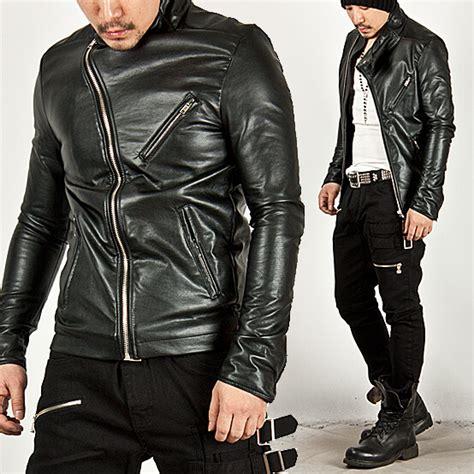 Vest Zipper Kamen Rider Ryuga outerwear striking diagonal zipper accent rider leather jacket 30 for only 108 00