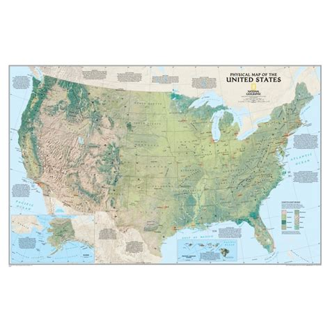 map of usa states to buy buy united states physical wall map laminated by national