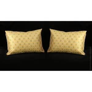 custom silk modern decorative pillows choose size trim