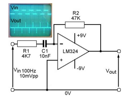 integrator circuit using lm324 quarter wave rectifier page 1