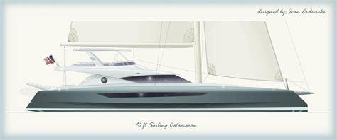 charter catamaran design ivan erdevicki 90 ft catamaran design yacht charter