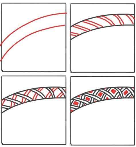 Zentangle Pattern Vega   931 best images about draw and doodle zentangle style on