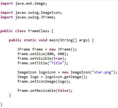 tutorial java jframe java jframe making main windows