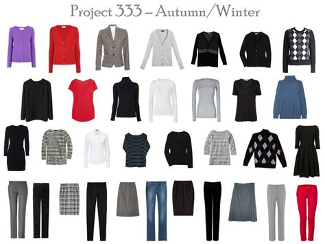 Project Wardrobe by Capsule Wardrobe Project 333 From The Sublime To The
