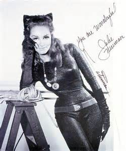 Julie newmar from the show called the big scandal