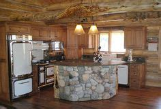 kitchen rock island i this cedar countertop beautiful primitive