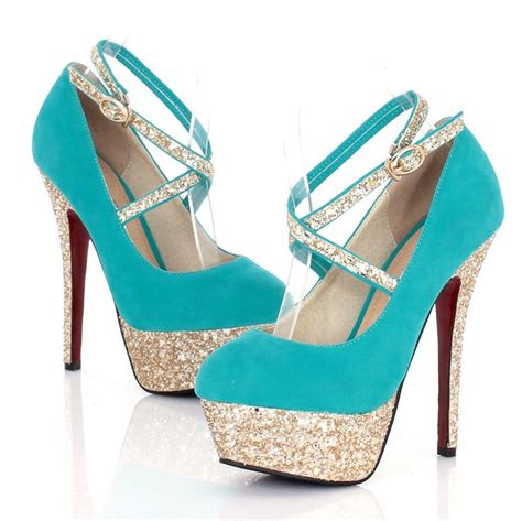 turquoise high heel shoes turquoise strappy high heel fashion shoes on luulla