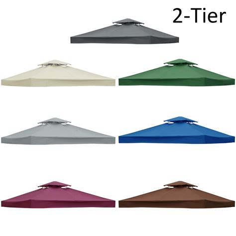 gazebo roof replacement 3x3m garden gazebo top cover roof replacement fabric tent