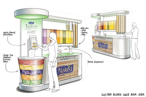 Juicer Innovation Store dave pinter concept design for brand environments