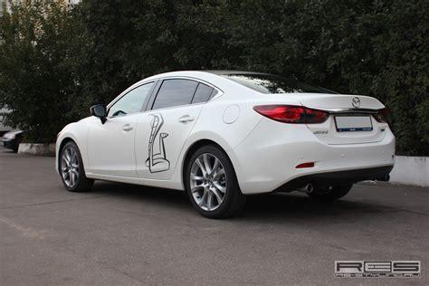 Fußmatten Auto Mazda 2 by New Mazda 6 Gets An All Matte White Photo Gallery