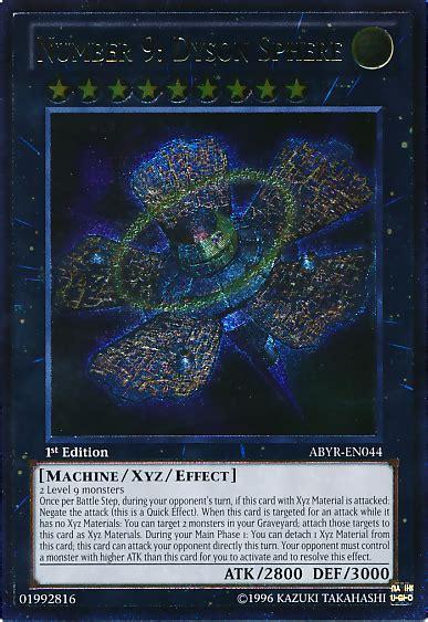 number 9 dyson sphere deck file number9dysonsphere abyr en utr 1e png yu gi oh
