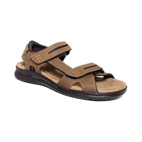 dockers s sandals dockers solano sandals in brown for lyst