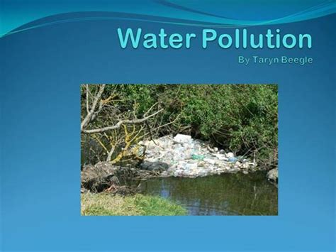 ppt templates for water pollution beegle water pollution authorstream