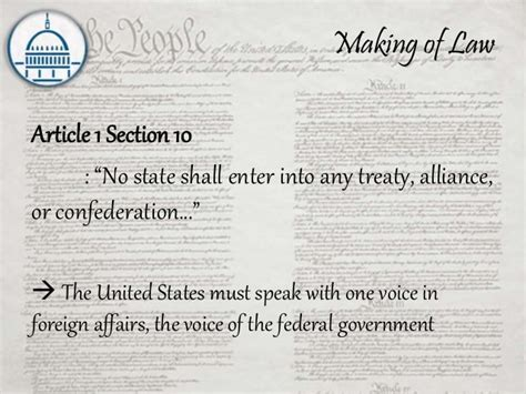article one section 10 us constitution