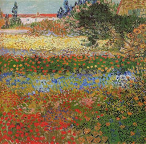 Here Is My Heart July 2011 Gogh Flowering Garden