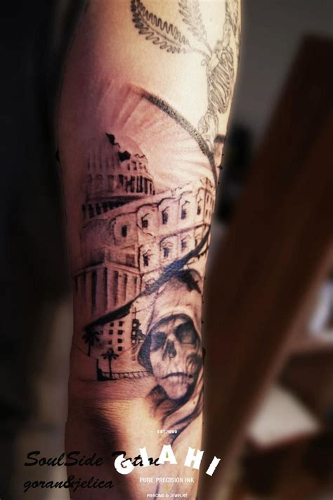 hood tattoos capitol skull in gaphic by goran petrovic