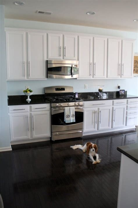Black Kitchen Cabinets What Color On Wall White Cabinets Floor Wall Color Sherwin Williams S For The Home