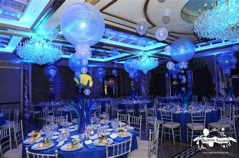 underwater themed events underwater bubbles party room party balloons