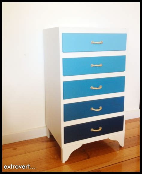 Diy Ombre Dresser by Diy Ombre Dressers May Do This To Our Black Dressers But