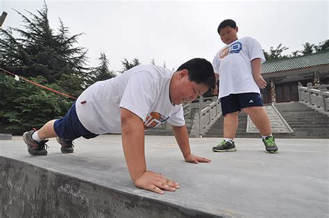 summer for obese people summer c tackles child obesity in china 2 chinadaily