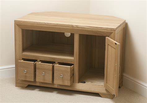 small corner tv cabinet small corner tv cabinet rushden solid oak furniture small