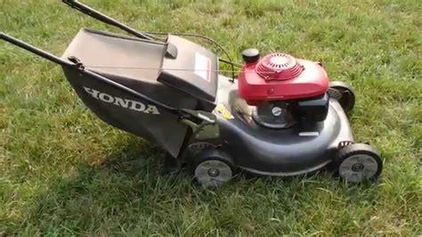 honda hrr216 lawn mower honda hrr216 harmony ii lawn mower quadra cut system